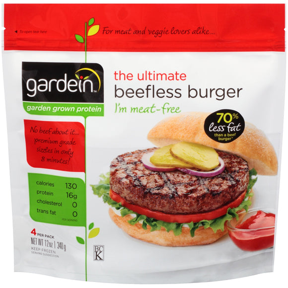 Ultimate Beefless Burger 340g (COLD)