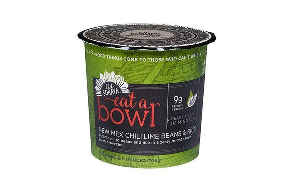 Eat A Bowl Mex Chilli Lime Beans & Rice 70g