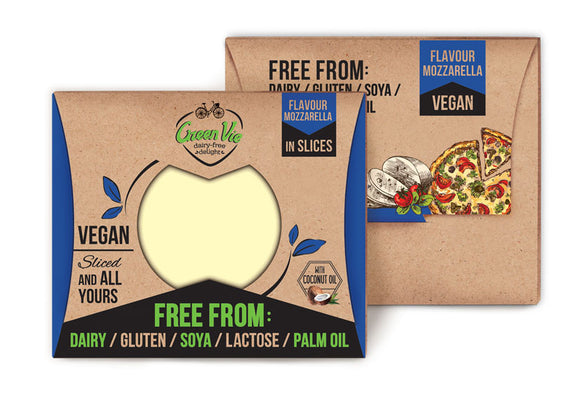 Green Vie Mozzarella Slices 180g (COLD)