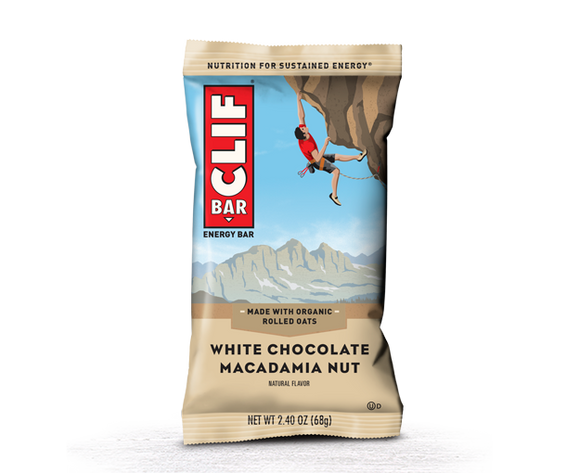 White Chocolate Macadamia Nut Energy Bar