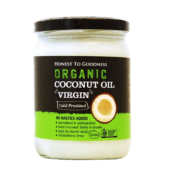 Organic Coconut Oil Virgin 500ML