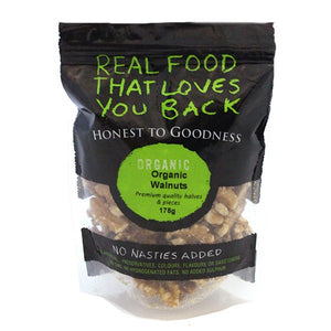 Organic Walnut Kernels Combo Halves & Pieces 175G