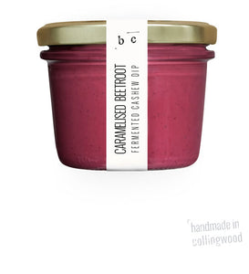 Caramelised Beetroot Fermented Cashew Dip 200G (COLD)