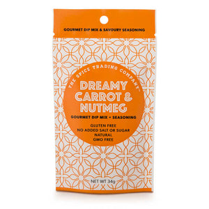 Dreamy Carrot and Nutmeg Gourmet Dip Mix/Seasoning