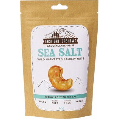 Cashew Nuts Sea Salt - 65g