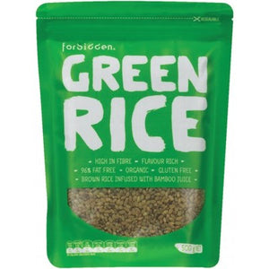 Organic Green Rice infused with Bamboo Juice Extract - 500g
