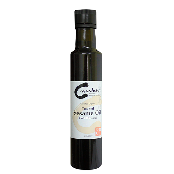 Organic Toasted Sesame Oil Cold Pressed
