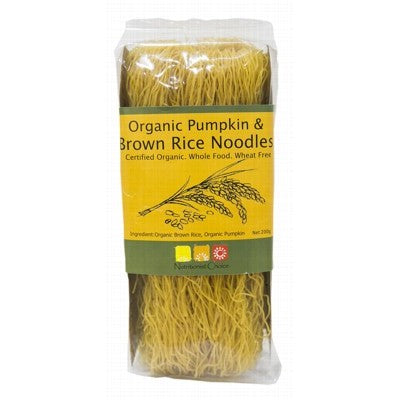Organic Rice Noodles Pumpkin & Brown Rice 200g