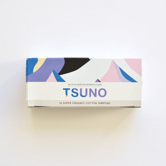 Organic Cotton Tampons 16 Super