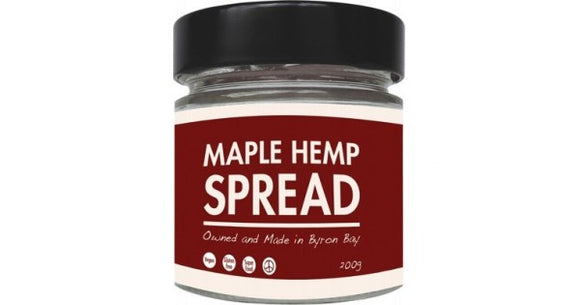 Maple Hemp Spread 200g