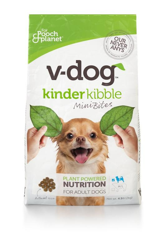Vegan Dog Food Kinder Kibble Mini Bites 2kg