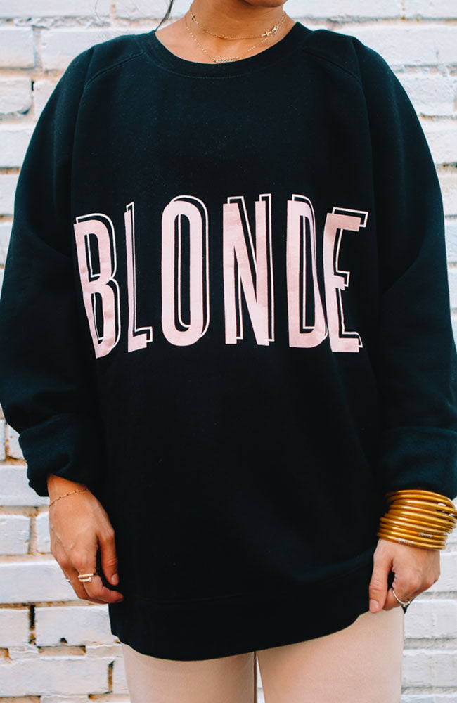 "The ""Blonde"" Crew Neck"
