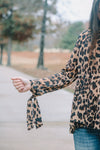 So Fine Leopard Blouse