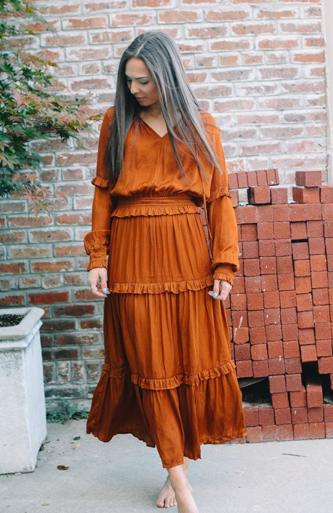 Into the Party Rust Maxi