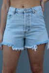 On The Run Denim Shorts