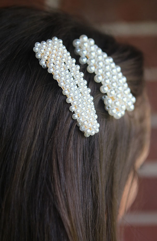 Solid Pearl Hair Pins