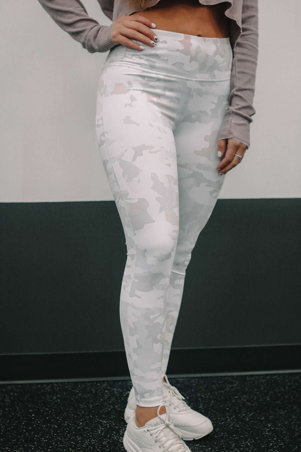 White Army Stretch Legging