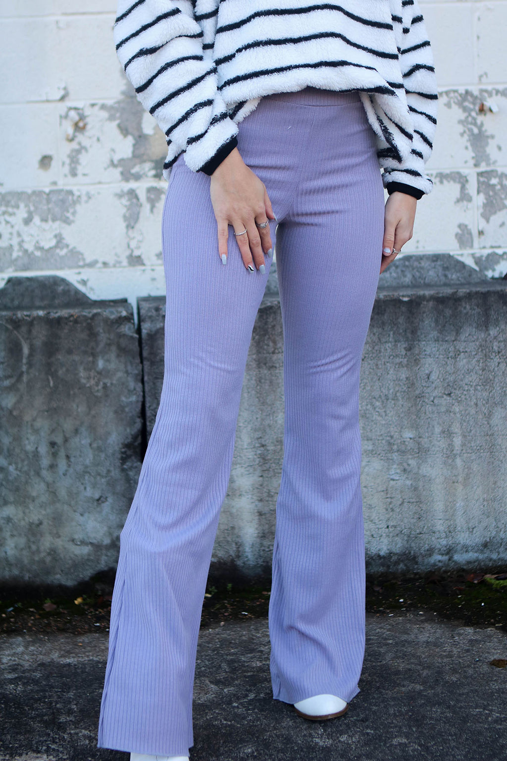 Lavender Bell Bottoms