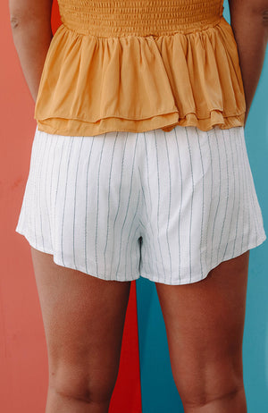 Blaze Striped Dress Shorts