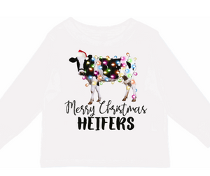 Christmas Heifers Mama Tee