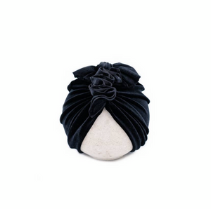 Vintage Head-wrap Midnight Velvet