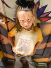 Load image into Gallery viewer, Acid washed you can't sit with us baby & kids Tees