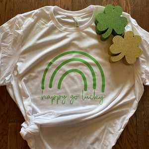 Happy Go Lucky Mama & Me Tee