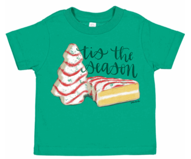 Lil Debbie Tis the Season Baby & Kids tee
