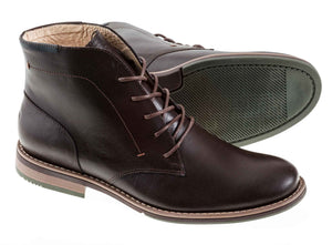 Zapato London para hombre Green Bear Café - Green Bear Shoes