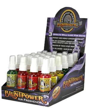 BluntPower Spray 1.5oz Plastic Bottles  48ct.