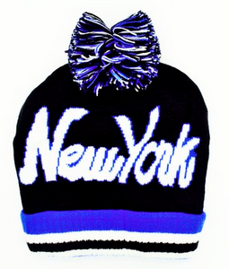 Winter Hat Wholesale with the Logo New York ssold by Nutel Distributors