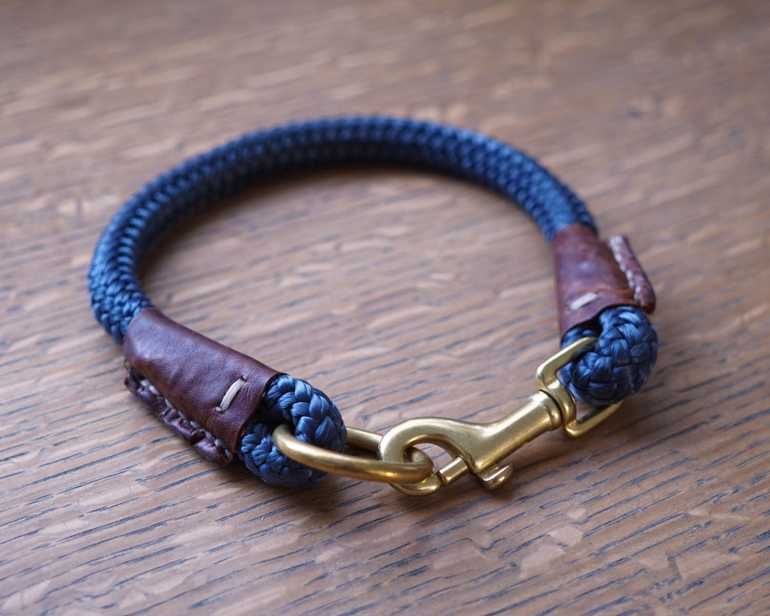 The Daily Getup-Dog Collar-Ocean Blue-[curren_alte_text]-WanderDog Designs