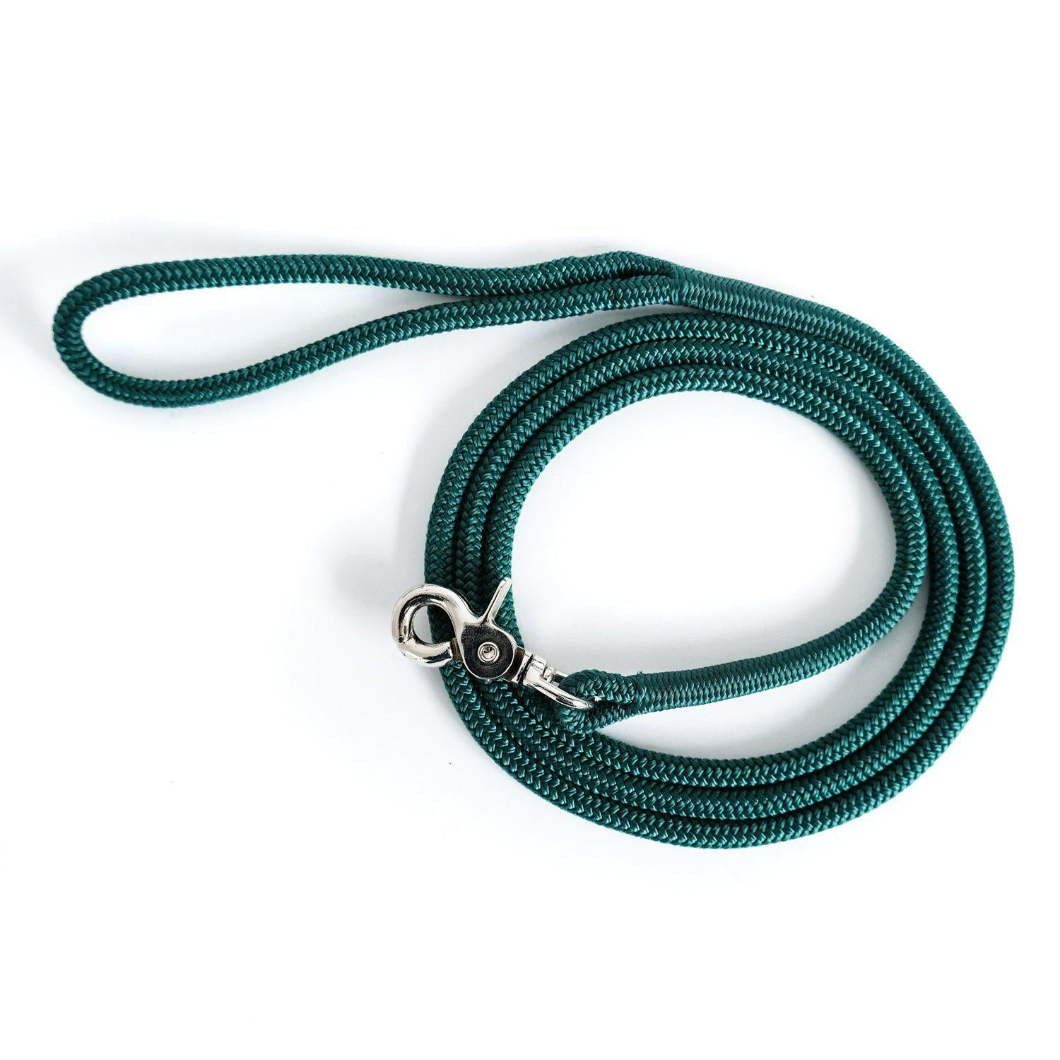 The Little Mosey-Dog Leash-Evergreen-[curren_alte_text]-WanderDog Designs