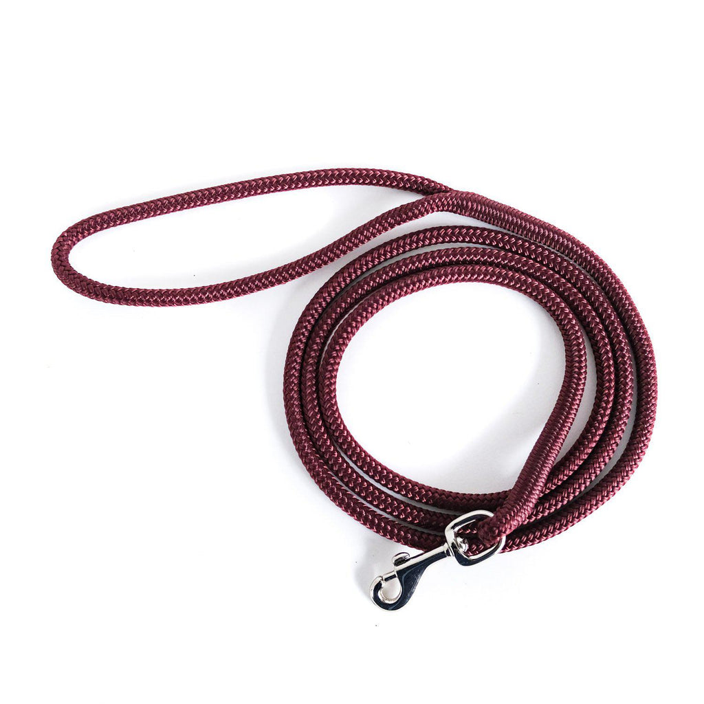 The Little Mosey-Dog Leash-Red Wine-[curren_alte_text]-WanderDog Designs