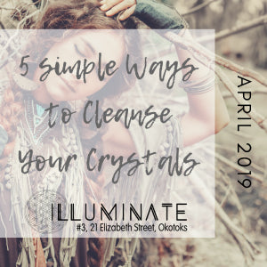 5 Simple Methods for Cleansing Your Crystals