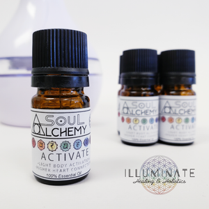 Activate Essential Oil - All Chakras - Alchemy Quintessence
