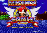 Mighty The Armadillo HACK In Sonic The Hedgehog 1