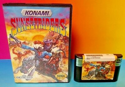 Sunset Riders (with Box and Manual)