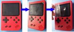Built-in 400 Games Retro Video Handheld Game Console+ Gamepad 2 Players controller Doubles 3.0 Inch Color LCD Game Player