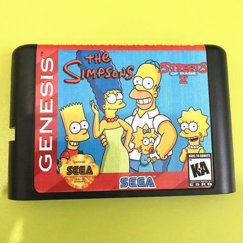 Streets of Rage (The Simpsons Edition/ Hack)