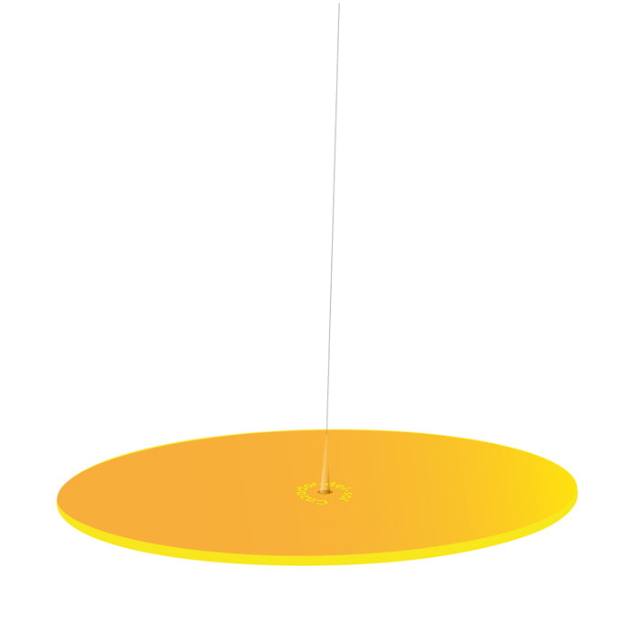 PENDANT  YELLOW 150mm