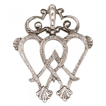 Luckenbooth Brooch