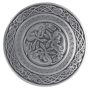 CELTIC KNOT, DOG, ROUND