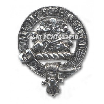 FRASER CLAN CAP BADGE