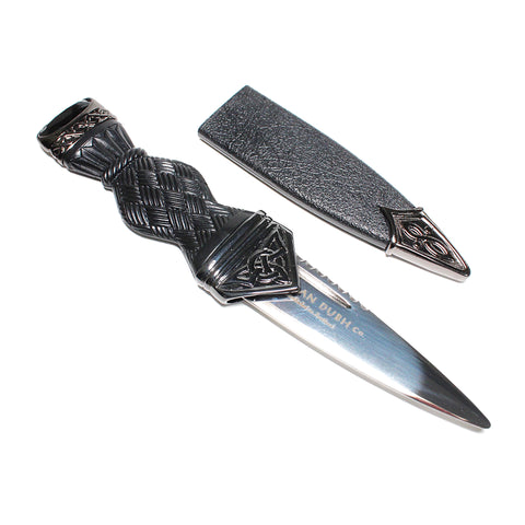 CELTIC BLACK CHROME SGIAN DUBH