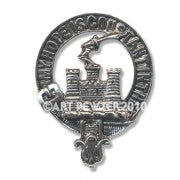 MACDONALD CLANRANALD CAP BADGE