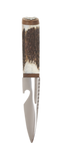 Stag Antler Sgian Dubh with Walnut Mount