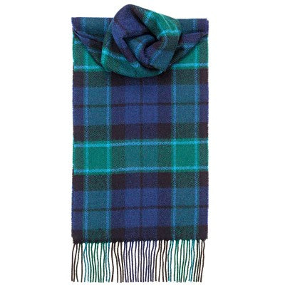 GRAHAM OF MENTEITH MODERN LAMBSWOOL SCARF