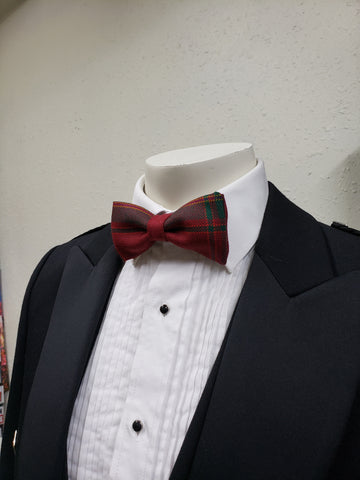 CARRUTHERS RED BOW TIE
