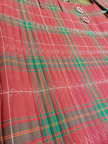 CLAN CARRUTHERS RED 8 YARD KILT